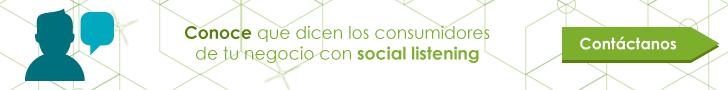 social listening en el mercado de consumo